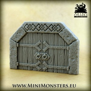 Dwarven Doors SET2