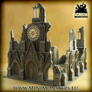 Ruins of Gothic Cathedral (PREORDER)