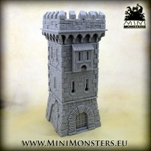 Guard Tower (without Roof)
